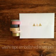 Embellish envelopes