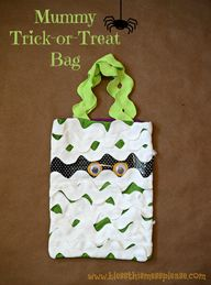 Mummy Trick-or-Treat