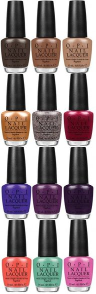 OPI Nordic collectio