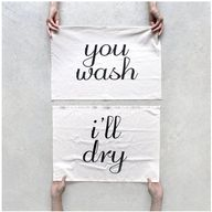 alt: you wash/you dr