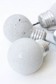 cement lightbulb hoo