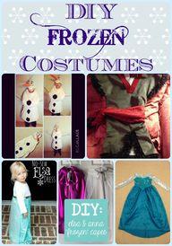 DIY Frozen Costumes