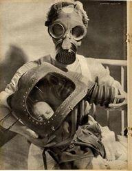 1940: Nurse and baby