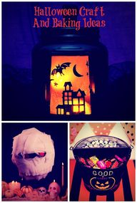 Halloween craft and