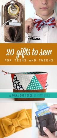 20 gifts to sew for