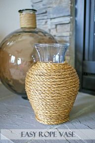 Easy Rope Vase on kl
