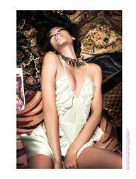 Chanel Iman Smolders