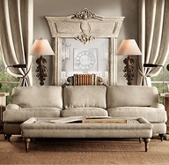 Linen sofa-Neutral T