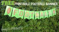 Football Free Printa