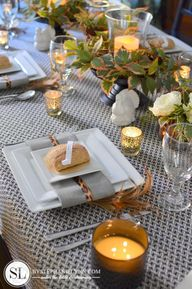 Fall Table Setting I