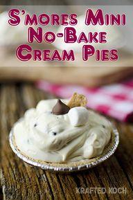 S'mores Mini No-Bake