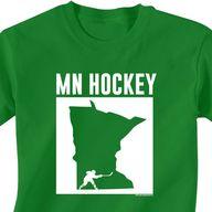 Minnesota Hockey tee