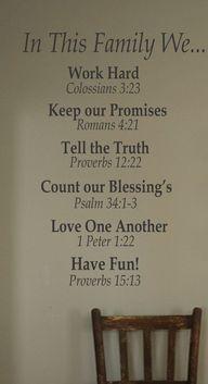 family motto / coven