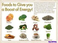 Food to boost energy