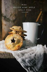 mini spelt pies with