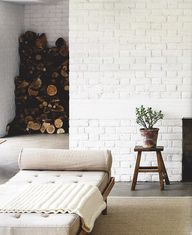 White brick. Love!