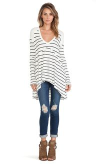 Free People Striped