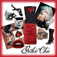 Gothic Chic, created by beatrice-gonzalez