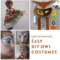 Easy DIY owl costume