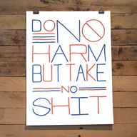 Do No Harm Poster by