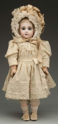 Antique doll preserv