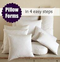 Tutorial: DIY pillow