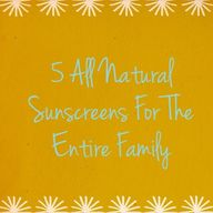 5 all natural sunscr