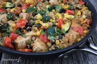 One-skillet Mexican