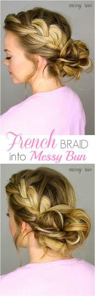 French #Braid into M