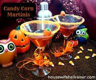 Candy Corn Martinis-