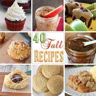 40 Fall Recipes on k