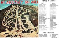 Vintage ski trail ma