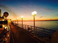 A beautiful sunset o