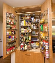 kitchen pantry turn