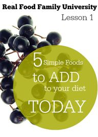 5 Simple Foods to Ad