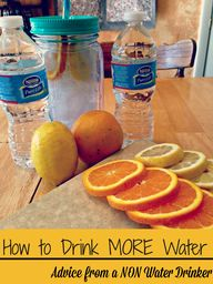 How to Drink MORE wa
