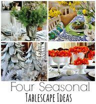 Four Seasonal Tables