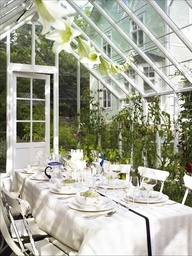 I'm dreaming of a white... greenhouse!