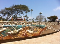 Solana Beach sea art