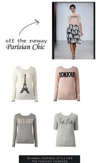 Parisian Chic Sweate