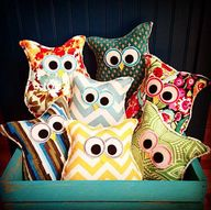 Owl Pillows!