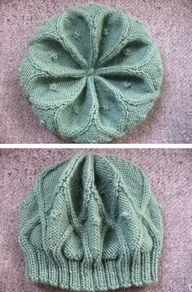 knit beanie Free pat