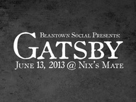 Gatsby Party. 6/13/1