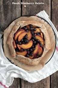 peach blueberry gale