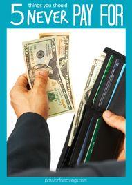 Saving Money Tips: 5