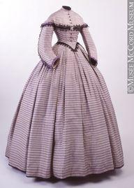 dress ca. 1862-1864