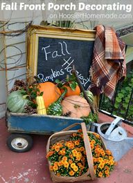 Fall Front Porch Dec