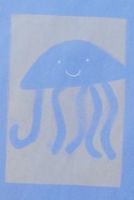jelly fish sun print