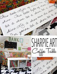 Sharpie Art Coffee T