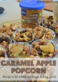 Caramel Apple Popcor